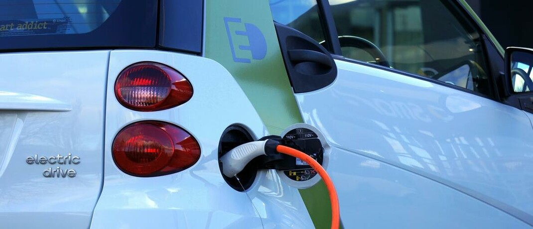Smart mit Elektromotor