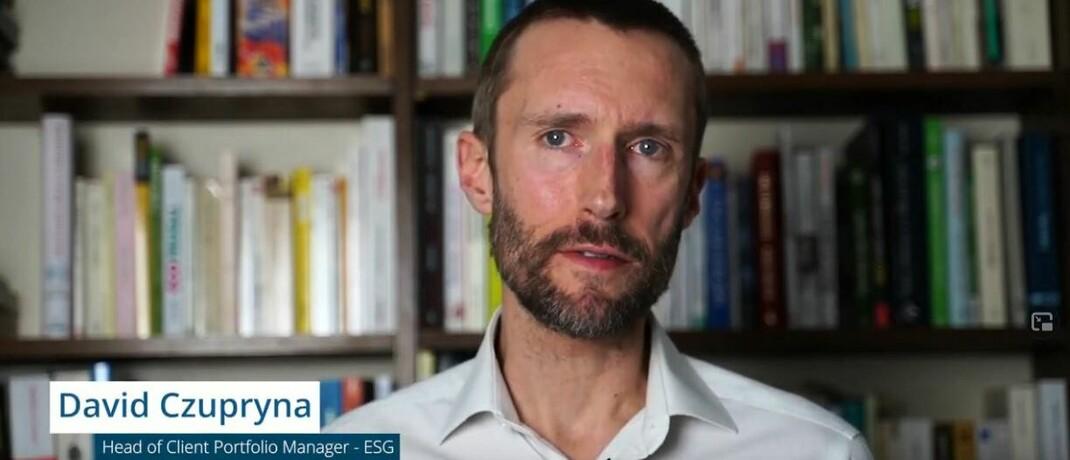 David Czupryna, Nachhaltigkeitsspezialist bei Candriam