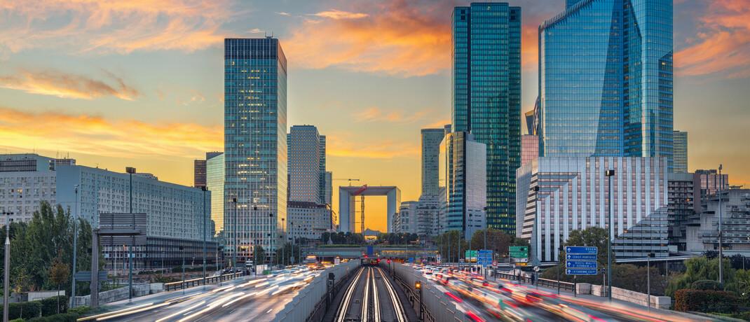 Pariser Finanzdistrikt La Defénse