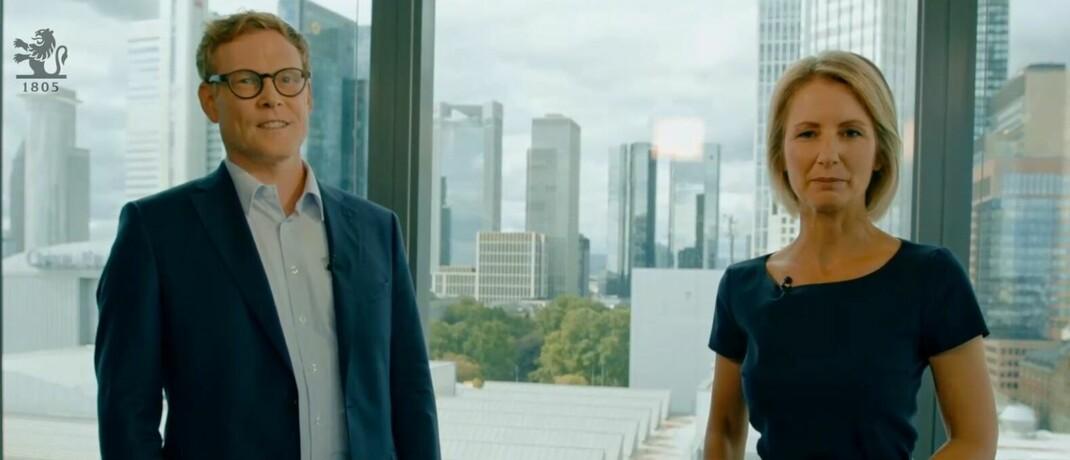 Themenfonds-Spezialist und Megatrends-Enthusiast Walter Liebe und Wirtschaftsjournalistin Sissi Hajtmanek im Gespräch