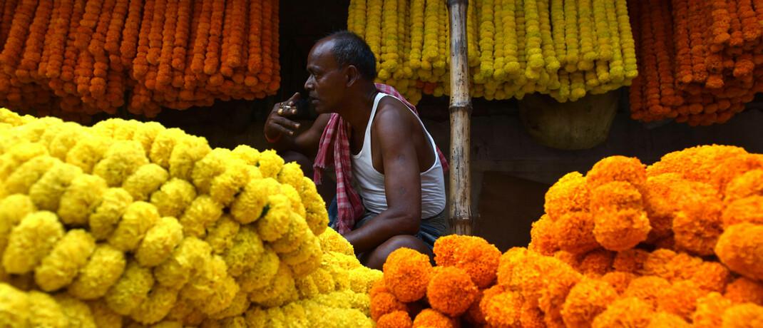 Händler in Indien
