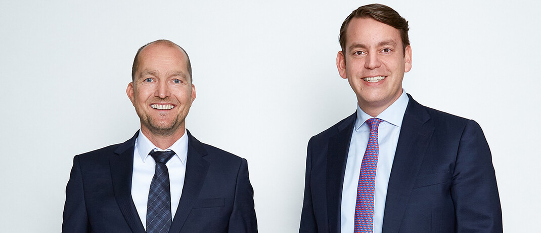Der alte und der neue Vorstandschef von Netfonds
