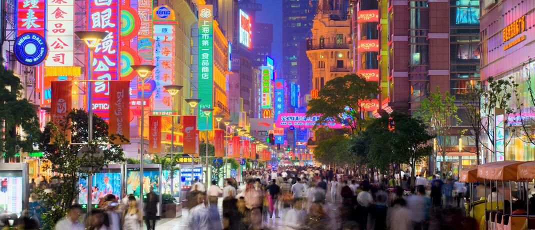 Shopping-Mall in Shanghai