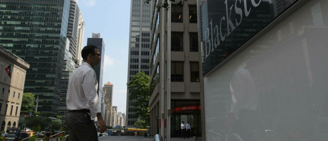 Sitz des Private-Equity-Spezialisten Blackstone in der New Yorker Park Avenue