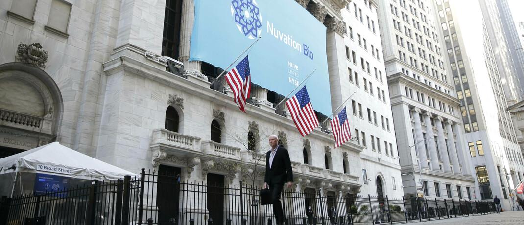 Börse in New York