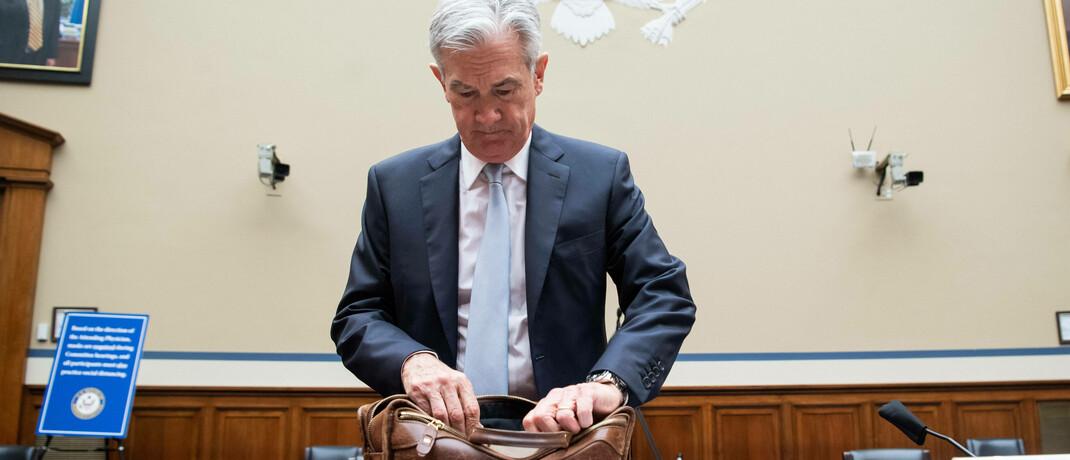 US-Notenbank-Chef Jerome Powell geht davon aus, dass der jüngste Preisanstieg vorübergeht.