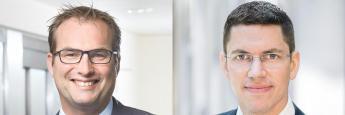 John Korter, Leiter der Geschäftsentwicklung Deutschland und Österreich, und Christian Schmitt, Portfolio-Manager der Ethna Funds