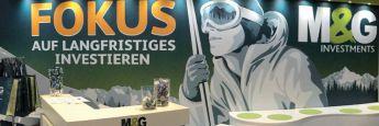 Nahe am Vertrieb: Messestand auf dem Fondskongress in Mannheim