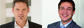 Frank Nobis, Institut für Vorsorge und Finanzplanung (l., Foto: Dominik Garban), und Jochen Ruß, Institut für Finanz- und Aktuarwissenschaft (ifa)