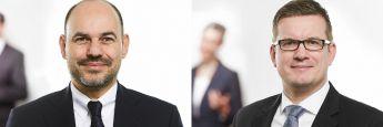 Ersin Soykandar (l.), neuer Leiter Private Mandanten, und Jan Heitzhausen, neuer Berater am Standort Bad Homburg