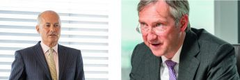 Kurt von Storch (li.) und Bert Flossbach, Chefs und Gründer der Vermögensverwaltung Flossbach von Storch