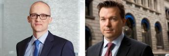 Michael Feiten (li.), Dachfondsmanager und Head of Multi Asset & Alternatives bei Nord/LB und Anders-Tandberg Johansen, Fondsmanager bei DNB Asset Management