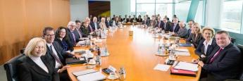 Sitzung des Bundeskabinetts