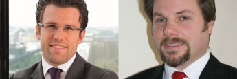 Christian Funke, Vorstand bei Source for Alpha (l.) und Wolfgang Zillich, Gründer von Premium Asset Management