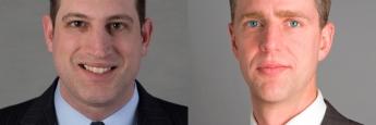 Gershon Distenfeld (links), Director of High-Yield Debt, und Ivan Rudolph-Shabinsky (rechts), Portfolio Manager, vom Asset Manager AB