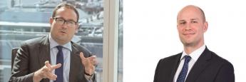 Mark Nichols (re.) managt zusammen mit Dave Dudding (li.) den Threadneedle European Select