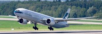 Die Boing 777, auch Triple Seven genannt, ist bei Investoren aufgrund der guten Marktgängigkeit beliebt