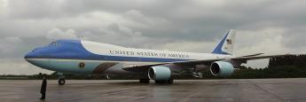 Boeing 747: Die Airforce One, das Flugzeug des amerikanischen Präsidenten, gehört zu den Jumbo-Jets