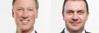 Fereal-Vorstand Andreas Schmidt-von Rhein (links) und Daniel Haas, Direktor und Leiter für das Real-Asset-Geschäft bei Fereal