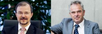 Stephan Albrech (li.), Chef der Vermögensverwaltung Albrech & Cie., argumentiert gegen Stefan Duchateau, Berater des PTAM Global Allocation UI