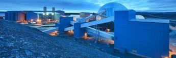 Agnico-Eagle-Mines-Fabrik in Meadowbank bei Sydney, Australien