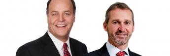 Zukünftige Doppelspitze der Janus Henderson Group: Janus-Chef Dick Weil und Henderson-Chef Andrew Formica