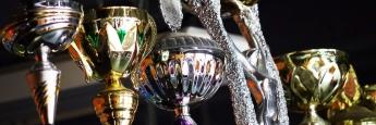Siegerpokale: Den Sieger der Fund Selector's Challenge geben wir im Juni 2018 bekannt