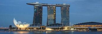 5-Sterne-Deluxe: das Hotel Marina Bay Sands in Singapur