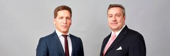 Ufuk Boydak (li.) und Christoph Bruns, Fondsmanager bei Loys
