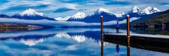 Die Natur in arktischen Regionen ist bedroht durch den Klimawandel.