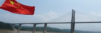Neue Brücke über den Yangtse in China