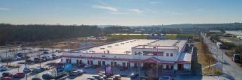 Das Investitionsobjekt ist das Kaufland-Warenhaus bei Würzburg