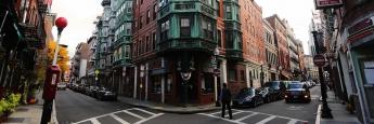 Wohnstraße in Boston. Im Großraum der Stadt will die BVT mit ihrem US-Fonds Wohnprojekte finanzieren.