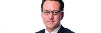 Sebastian Grabmaier, Geschäftsführer der Jung, DMS & Cie. Pool GmbH und Vorstandsvorsitzender der Jung, DMS & Cie. AG aus Wiesbaden
