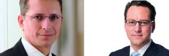AfW-Vorstand Norman Wirth, Jung, DMS & Cie-Chef Sebastian Grabmaier