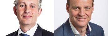 Robeco-Experten Sander Bus (l.) und Viktor Verberk (r.)