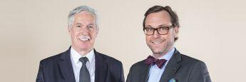 Initiatoren von My Smart Finance Otto Lucius (li.) und Guido Küsters