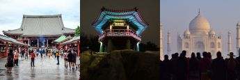 Impressionen aus China, Südkorea und Indien