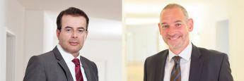 Thomas Elster (li.) und Christian Hackenberg, Fachanwälte für Bank- und Kapitalmarktrecht bei der Kanzlei Dr. Roller & Partner PartmbB