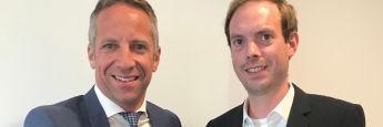 Norbert Porazik (l.) und Philip Offergeld