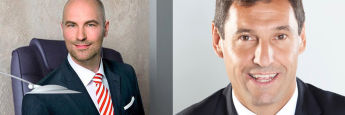 Der langgjährige Vorstandsvorsitzende Oliver Lang (li.) verlässt den Maklerpool BCA. Nachfolger wird Rolf Schünemann