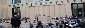 Plenarsitzung des Bundesrats: Bis kurz vor seiner Zustimmung hatte sich die Länderkammer noch gegen das Provisionsabgabeverbot ausgesprochen.