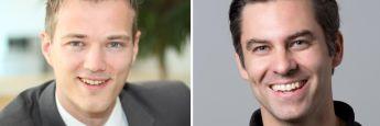 Ralf Heim von Fincite (li.) und Nicholas Ziegert von W&Z Fintech sehen bei derzeitigen Robo-Advisor großen Verbesserungsbedarf
