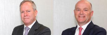 Die Fondsmanager Stephen Fitzgerald und Stuart Kinnersley (links im Bild) von Affirmative Investment Management (AIM): Lombard Odier IM und AIM haben gemeinsam die Global Climate Bond-Strategie auf den Weg gebracht