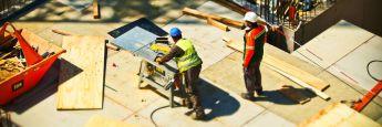 Baustelle: Die Baupreisen in Deutschland steigen.
