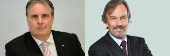 Peter Härtling, Geschäftsführer der Deutschen Gesellschaft für Ruhestandsplanung in Altötting, (l.) und Hans-Jürgen Bretzke, Vorstand der Fondskonzept AG mit Sitz in Illertissen bei Ulm: Die zwei Unternehmen haben jetzt eine IT-Kooperation beschlossen.