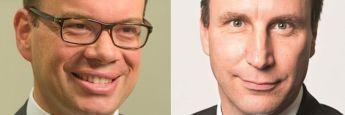 Frank Stefes (l.) und Robert Schlichting: Stefes übernimmt den Drittparteienvertrieb, während Schlichting als Leiter Institutioneller Vertrieb für Deutschland und Österreich bei Lombard Odier IM einsteigt