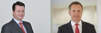 Klären die Grenzen zwischen aktiven und passiven Fonds: Clemens Bertram (li.), Leiter Vertriebspartner Deutschland bei UBS Asset Management, und Dag Rodewald, Leiter des Vertriebs von passiven Produkten in Deutschland & Österreich bei bei UBS Asset Management