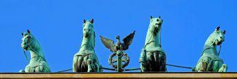 Das Brandenburger Tor in Berlin: Die Hauptstadt der Bundesrepublik hat laut RICS-Umfrage die besten Aussichten in den kommenden zwölf Monaten.