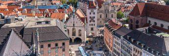 Marienplatz in München: Die Landeshauptstadt Bayerns steht an der Spitzen bei den Kauf- und Verkaufspreisen auf dem Wohnimmobilienmarkt.